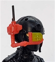 MTF Exo-Suit: HUD Targeting Site - RED Version - 1:18 Scale Marauder Task Force Accessory