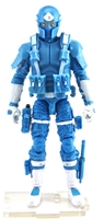"DELUXE MTF Male Trooper LIGHT BLUE & WHITE ""Strato-Ops"" Version - 1:18 Scale Marauder Task Force Action Figure"
