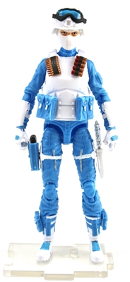 "DELUXE MTF Female Valkyries LIGHT BLUE & WHITE ""Strato-Ops"" Version - 1:18 Scale Marauder Task Force Action Figure"