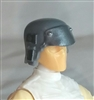 "Headgear: Armor Helmet GRAY Version - 1:18 Scale Modular MTF Accessory for 3-3/4"" Action Figures"