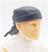 "Headgear: ""Do-Rag"" Head Cover GRAY Version - 1:18 Scale Modular MTF Accessory for 3-3/4"" Action Figures"
