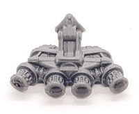 "Headgear: QUAD NVG Night Vision Goggles GRAY Version - 1:18 Scale Modular MTF Accessory for 3-3/4"" Action Figures"