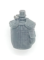 "Canteen with Cover GRAY Version - 1:18 Scale Modular MTF Accessory for 3-3/4"" Action Figures"
