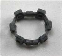 "Web Belt: GRAY Version - 1:18 Scale Modular MTF Accessory for 3-3/4"" Action Figures"