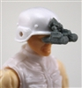 "Headgear: NVG Night Vision Goggles with Plug GRAY Version - 1:18 Scale Modular MTF Accessory for 3-3/4"" Action Figures"