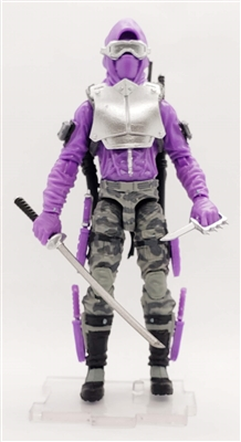 """NIGHT SHINOBI"" Geared-Up MTF Male Trooper - 1:18 Scale Marauder Task Force Action Figure"