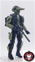 """NIGHT FIGHTER"" Geared-Up MTF Male Trooper - 1:18 Scale Marauder Task Force Action Figure"