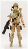 """WASTELAND BUG-HUNT"" Geared-Up MTF Male Trooper - 1:18 Scale Marauder Task Force Action Figure"