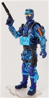"""SWAT BREACHER"" Geared-Up MTF Male Chimera-Ops Trooper - 1:18 Scale Marauder Task Force Action Figure"