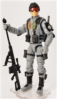"""NIGHT SNIPER"" Geared-Up MTF Male Tech-Ops Trooper - 1:18 Scale Marauder Task Force Action Figure"