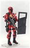 """ALLEY FIGHTER MK2"" Geared-Up MTF Male Trooper - 1:18 Scale Marauder Task Force Action Figure"