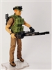 """STEADY CAM GUNNER"" Geared-Up MTF Male Trooper - 1:18 Scale Marauder Task Force Action Figure"