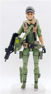"""INTEL-OPERATOR"" Geared-Up MTF Female Valkyries - 1:18 Scale Marauder Task Force Action Figure"
