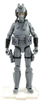 "DELUXE MTF Female Valkyries GRAY ""Tech-Ops"" Version - 1:18 Scale Marauder Task Force Action Figure"
