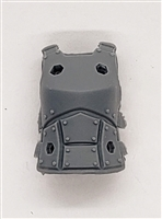 "Female Vest: Armor Type LIGHT GRAY Version - 1:18 Scale Modular MTF Valkyries Accessory for 3-3/4"" Action Figures"
