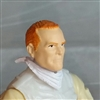 "Male Head: ""Trooper"" Light Skin Tone with Red Hair - 1:18 Scale MTF Accessory for 3-3/4"" Action Figures"