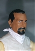 "Male Head:""Trooper"" Tan Skin Tone with BLACK GOATEE - 1:18 Scale MTF Accessory for 3-3/4"" Action Figures"
