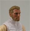 "Male Head: ""Ranger"" Light Skin Tone with LIGHT BROWN BEARD - 1:18 Scale MTF Accessory for 3-3/4"" Action Figures"