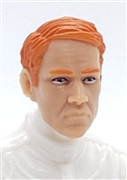 "Male Head: ""NIGEL"" Light Skin Tone with RED Hair - 1:18 Scale MTF Accessory for 3-3/4"" Action Figures"