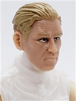 "Male Head: ""IVAN"" Light Skin Tone with LIGHT BROWN Hair - 1:18 Scale MTF Accessory for 3-3/4"" Action Figures"