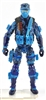"DELUXE MTF Male Trooper BLUE CAMO ""Chimera-Ops"" Version - 1:18 Scale Marauder Task Force Action Figure"