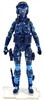 "DELUXE MTF Female Valkyries BLUE CAMO ""Chimera-Ops"" Version - 1:18 Scale Marauder Task Force Action Figure"