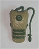 "Camel Hydration Pack: TAN & GREEN Version - 1:18 Scale Modular MTF Accessory for 3-3/4"" Action Figures"