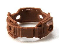 "Steady Cam Gun: Steady Cam Support Belt BROWN Version - 1:18 Scale Modular MTF Accessory for 3-3/4"" Action Figures"
