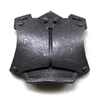 "Armor Chest Plate: GUN-METAL Version - 1:18 Scale Modular MTF Accessory for 3-3/4"" Action Figures"