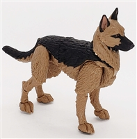 "MTF K9 Dog Unit: ""Jaeger"" Tan & Black German Sheperd Version BASIC - 1:18 Scale Marauder Task Force Animal"