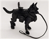 "DELUXE MTF K9 Dog Unit: ""Wraith"" All Black - 1:18 Scale Marauder Task Force Animal & Gear Set"