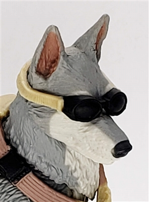 MTF K9 Dog Unit: TAN Goggles - 1:18 Scale Marauder Task Force Animal