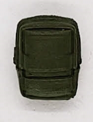 MTF K9 Dog Unit: GREEN Large Vest Pouch - 1:18 Scale Marauder Task Force Animal