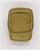 MTF K9 Dog Unit: TAN Large Vest Pouch - 1:18 Scale Marauder Task Force Animal