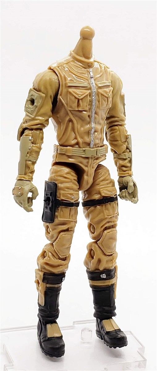 41d6d7dd7c7 MTF Male Trooper Body WITHOUT Head DARK TAN with Tan