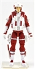 "DELUXE MTF Male Trooper RED & WHITE ""Rescue-Ops"" Version - 1:18 Scale Marauder Task Force Action Figure"