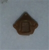 "Headgear: Helmet Plug BROWN Version - 1:18 Scale Modular MTF Accessory for 3-3/4"" Action Figures"