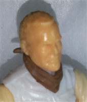 "Headgear: Standard Neck Scarf BROWN Version - 1:18 Scale Modular MTF Accessory for 3-3/4"" Action Figures"