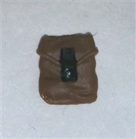 "Pocket: Small Size BROWN Version - 1:18 Scale Modular MTF Accessory for 3-3/4"" Action Figures"