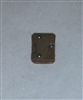"Armor Panel: Small Size BROWN Version - 1:18 Scale Modular MTF Accessory for 3-3/4"" Action Figures"