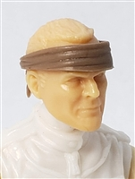 "Headgear: Headband BROWN Version - 1:18 Scale Modular MTF Accessory for 3-3/4"" Action Figures"