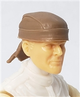 "Headgear: ""Do-Rag"" Head Cover BROWN Version - 1:18 Scale Modular MTF Accessory for 3-3/4"" Action Figures"