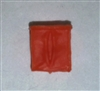 "Ammo Pouch: Empty ORANGE Version - 1:18 Scale Modular MTF Accessory for 3-3/4"" Action Figures"