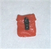 "Pocket: Small Size ORANGE Version - 1:18 Scale Modular MTF Accessory for 3-3/4"" Action Figures"