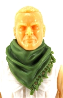 "Headgear: Large Neck Scarf ""Shemagh"" LIGHT GREEN Version - 1:18 Scale Modular MTF Accessory for 3-3/4"" Action Figures"
