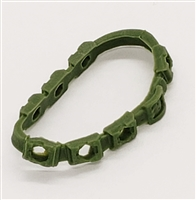 "Bandolier: LIGHT GREEN Version - 1:18 Scale Modular MTF Accessory for 3-3/4"" Action Figures"