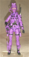 "DELUXE MTF Female Valkyries PURPLE ""Engineer-Ops"" Version - 1:18 Scale Marauder Task Force Action Figure"