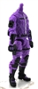 "MTF Male Trooper Body WITHOUT Head PURPLE with Black ""Engineer-Ops"" Version BASIC - 1:18 Scale Marauder Task Force Action Figure"