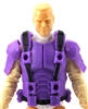 "Male Vest: Armor Type PURPLE & Black Version - 1:18 Scale Modular MTF Accessory for 3-3/4"" Action Figures"