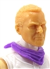 "Headgear: Standard Neck Scarf PURPLE Version - 1:18 Scale Modular MTF Accessory for 3-3/4"" Action Figures"